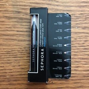 🆕 || Travel Sephora 12HR Contour Eye Pencil
